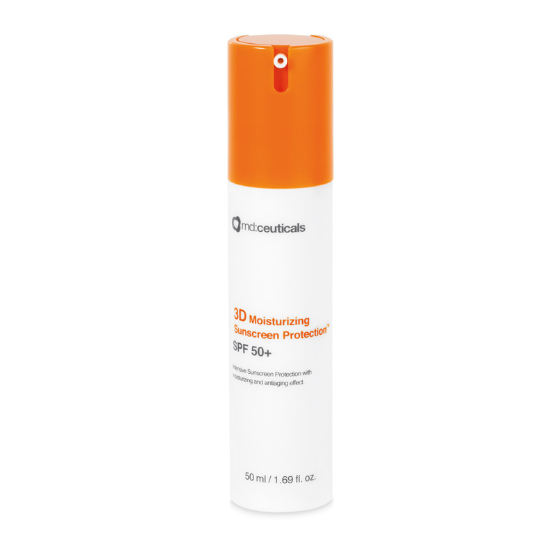 MD:CEUTICALS™ 3D MOISTURIZING SUNSCREEN PROTECTION SPF 50+