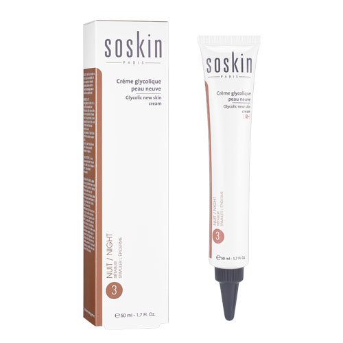 SOSKIN-PARIS GLYCOLIC NEW SKIN CREAM