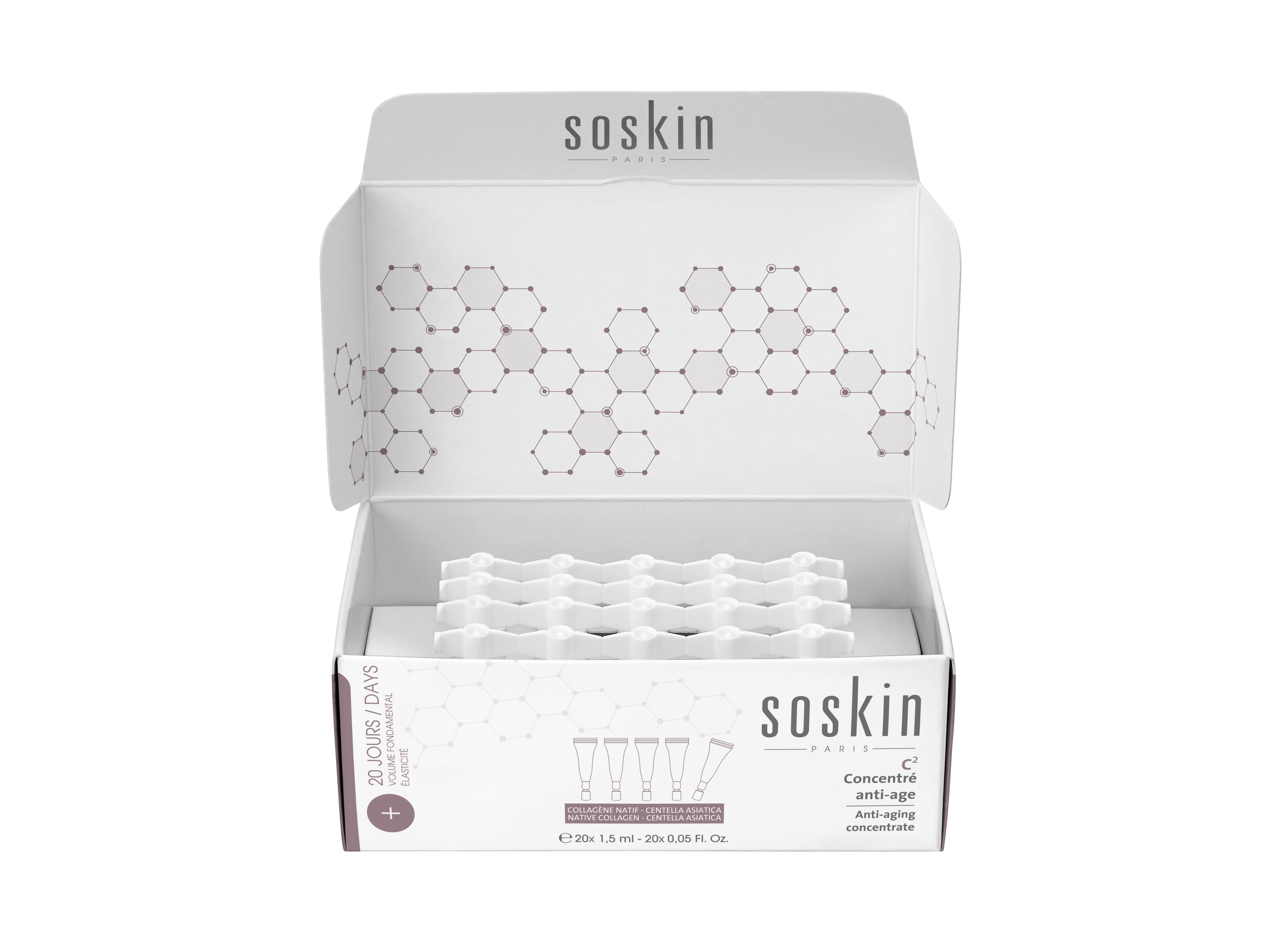 SOSKIN-PARIS INTENSIVE CONCENTRATE RESTRUCTURER 20*1,5 ml